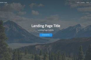 Landing Page Builder Free Landing Page Html Website Templates