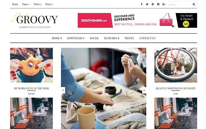 Groovy Fashion Magazine