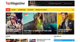 Free Magazine Html Website Templates