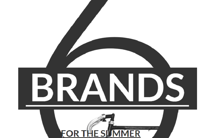 6 Brands For The Summer - Magazine Layout