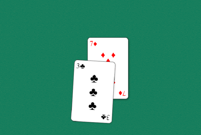 CSS Card Flop Animation