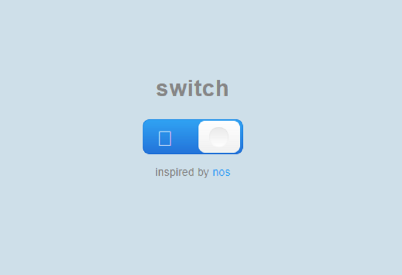 CSS Checkbox: Switch
