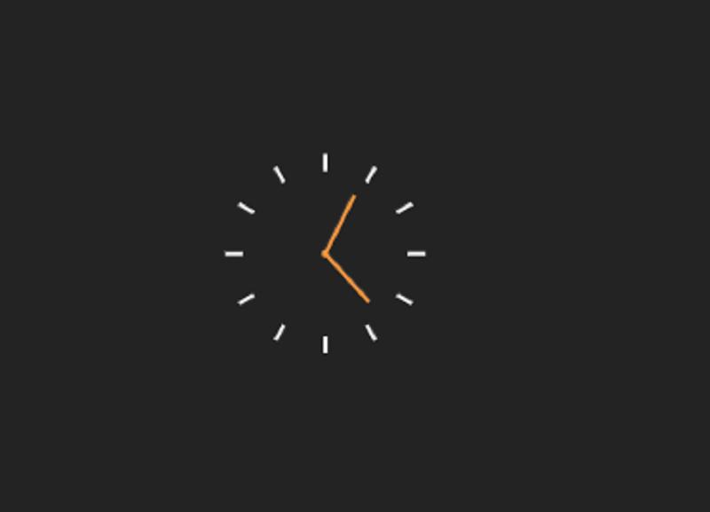 CSS Clock
