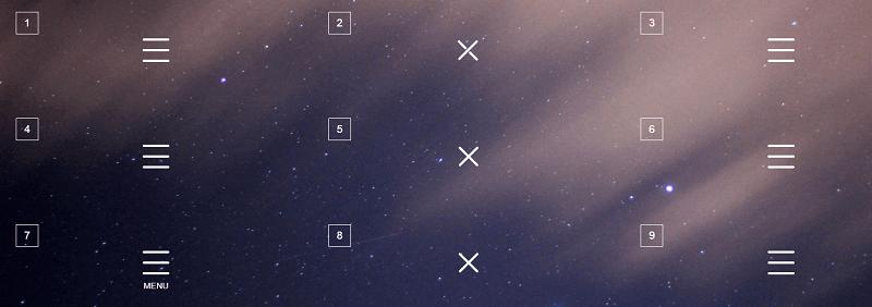 CSS Menu Icons #2