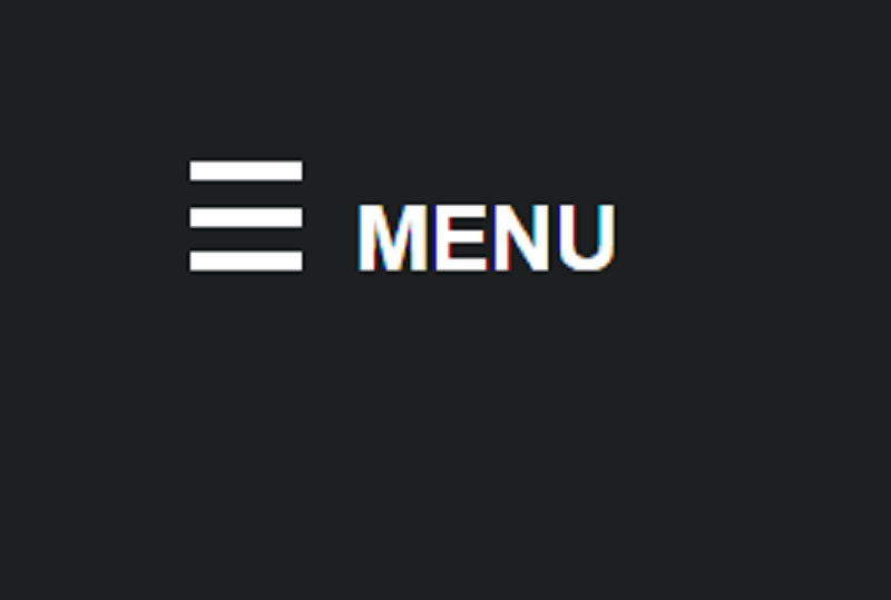 CSS Only Hamburger Menu