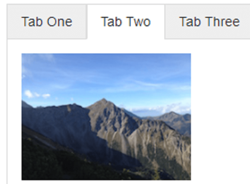 CSS Tabs using Flexbox