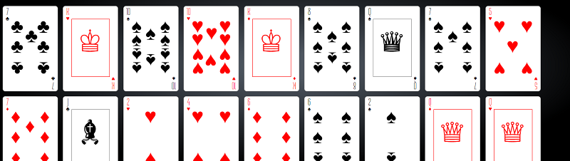 Deck Of CSS Playing Cards With Shuffling