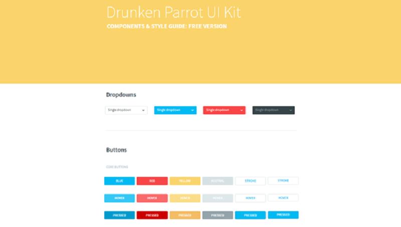 Drunken Parrot UI Kit Lite (free)