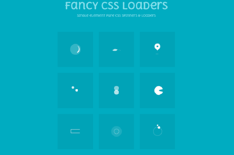 Fancy CSS Loaders / Spinners