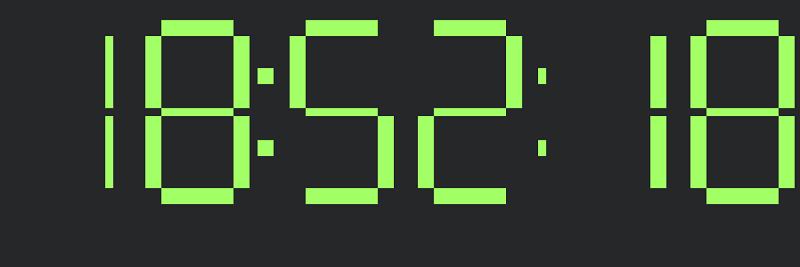 JS/CSS Clock
