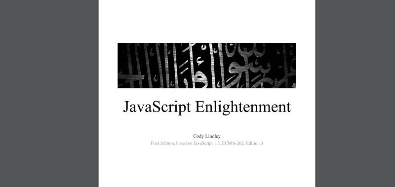 JavaScript Enlightenment