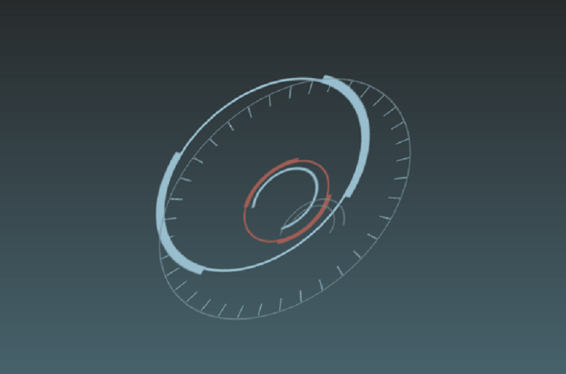 Minimal CSS Clock