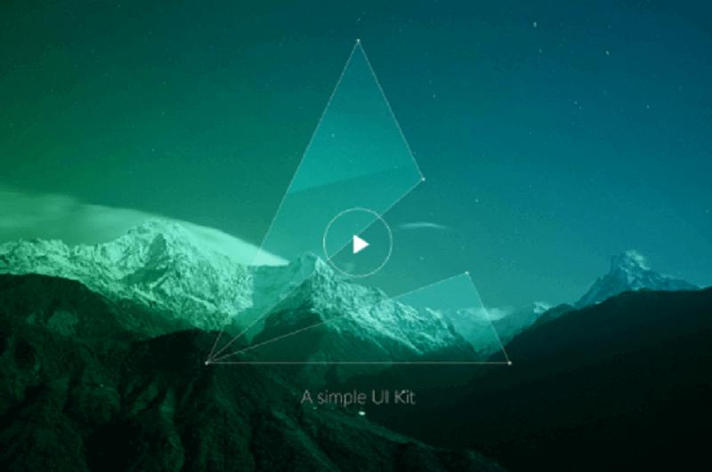 Poly – A simple, modular UI kit Built With Sass