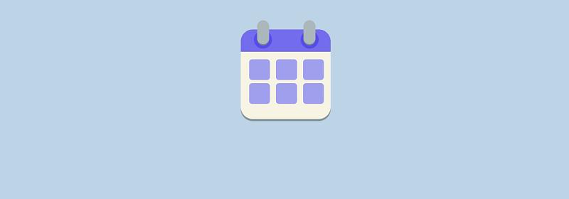 Pure CSS Calendar Logo