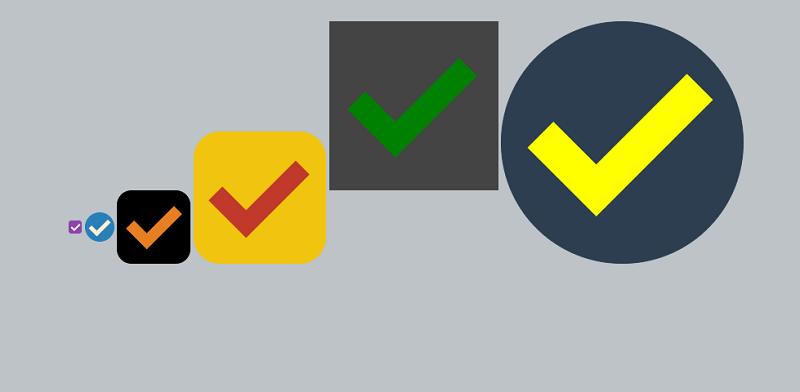 Pure CSS Checkbox SASS Mixin