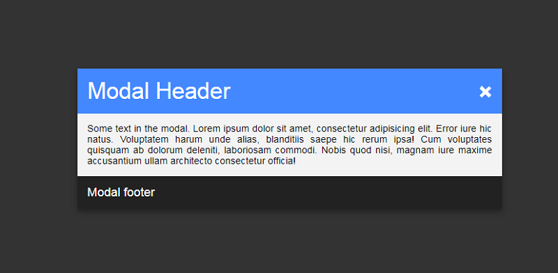 Pure CSS Modal Window (:Target)