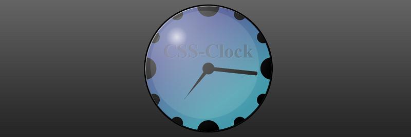 A CSS Clock.