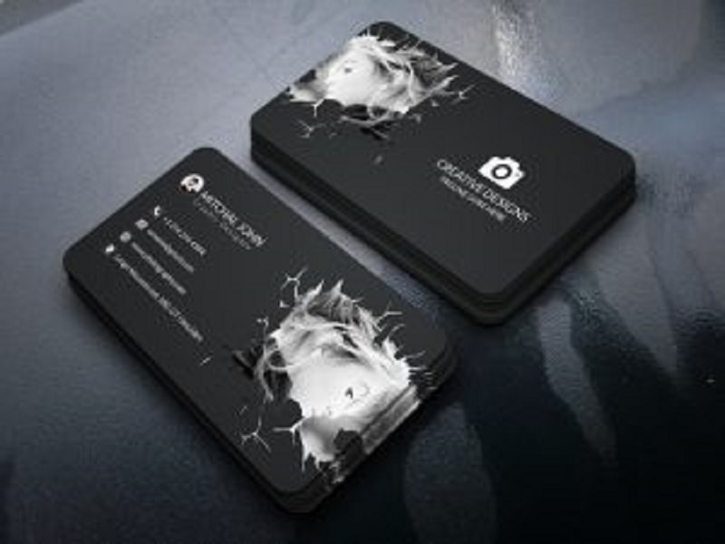 Photography Visiting Card Templates PSD Free Download