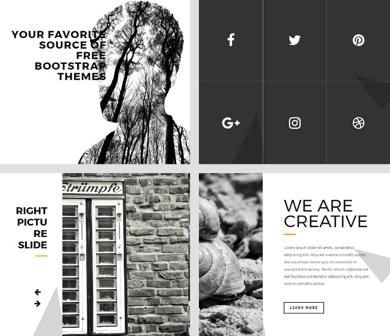 Bright – Free Bootstrap Html5 Template