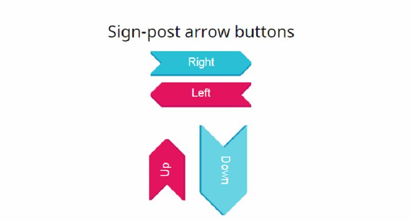 CSS Arrow Buttons