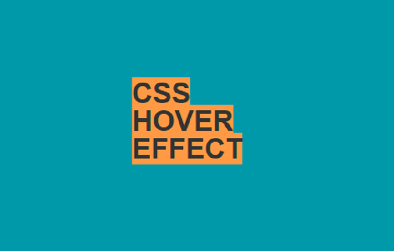 CSS Hover Effect
