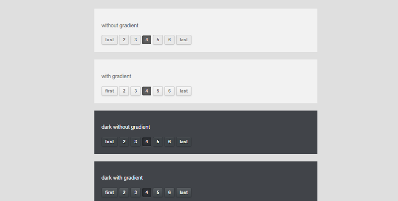 CSS Pagination Styles