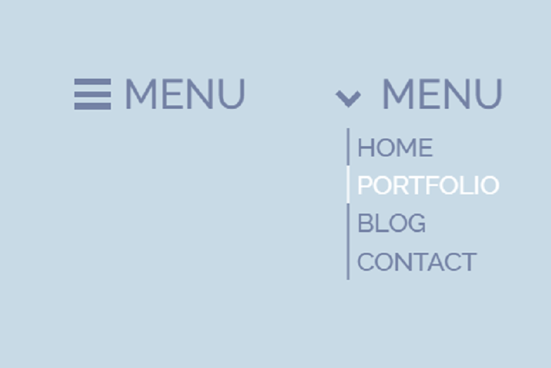 CSS Side Navigation And Hamburger Menu
