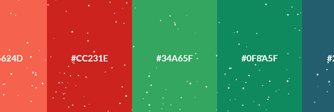 Christmas Colors.15 Css Color Palettes 2019 Free Html Designs