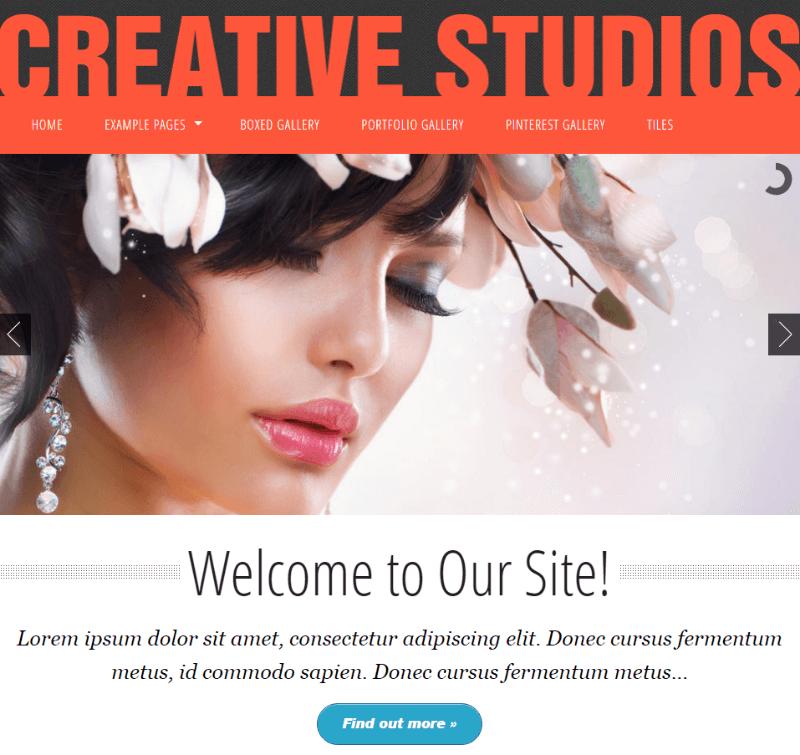 Creative Studios Free CSS Template
