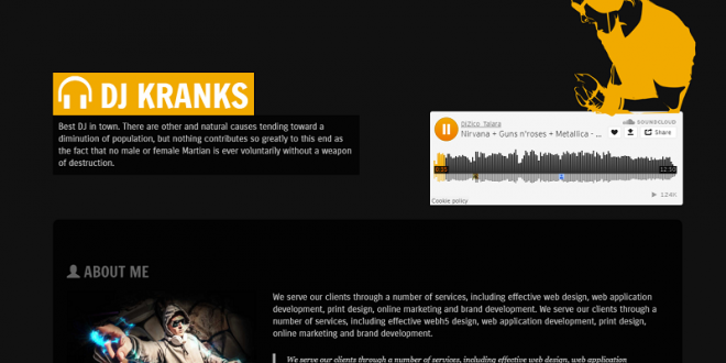 Free Night Club Html Website Templates