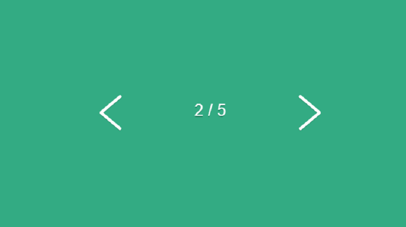 Flexing Pagination Arrows