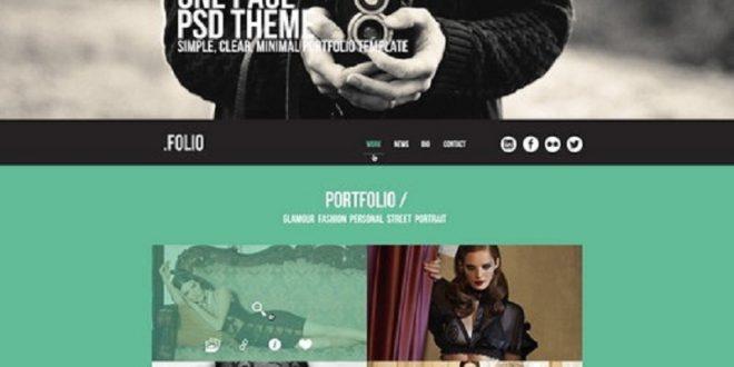 Free Photoshop PSD website templates