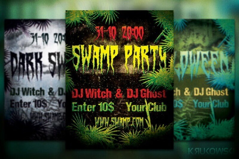Free Swamp Flyer/ Poster