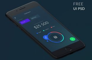Free Flat UI Kits PSD for Mobile Apps, Websites