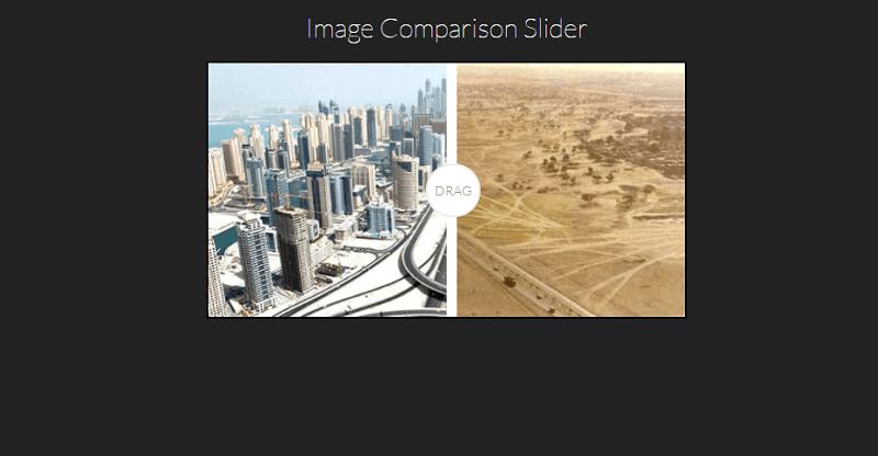 Image Comparison Slider