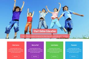 Free Education Html Website Templates
