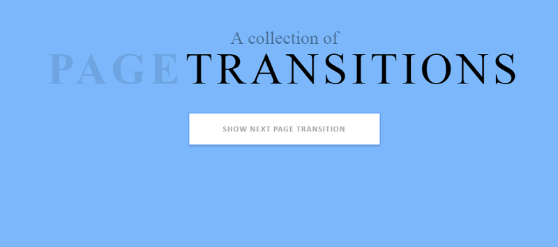 Marionette - Region CSS Page Transitions