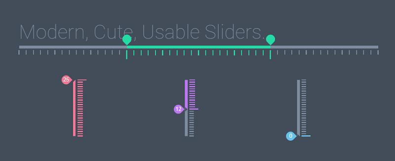 Modern, Usable, Responsive Sliders.