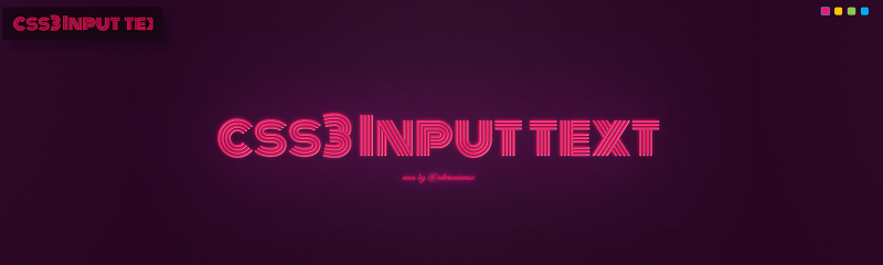 Neon With CSS3 Animation