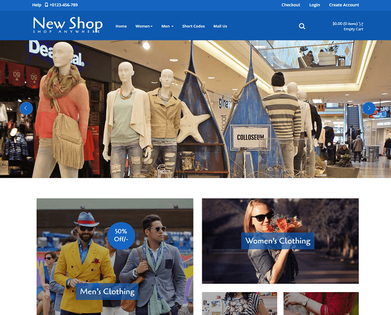New Shop a E-Commerce Category Flat Bootstrap Responsive Web Template
