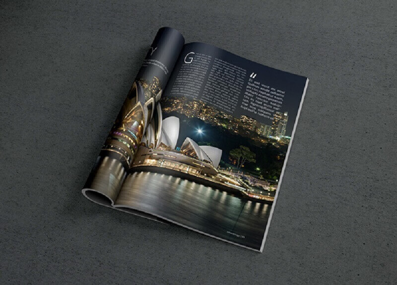 Photorealistic Magazine MockUp #2