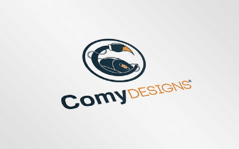 Realistic Logo Mock-Up (Free Download)