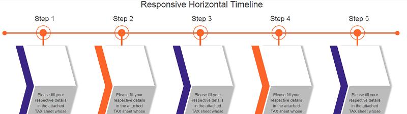 Responsive Horizontal Timeline