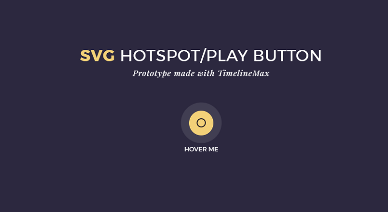 SVG Hotspot/Play Button Animation