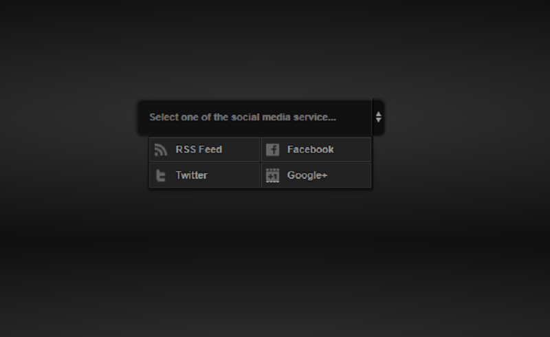 Select Box CSS3