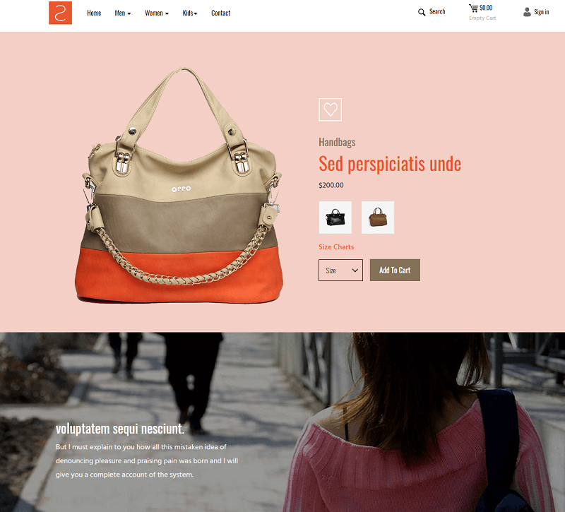 ShopList a Ecommerce Category Responsive Web Template