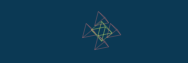 Tetrahedron Decomposition (Pure CSS 3D, WebKit-Only)