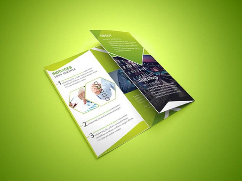 Free Tri-Fold Corporate Brchure PSD