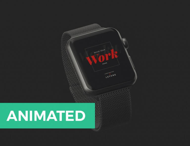 Animated Apple Watch Mockup