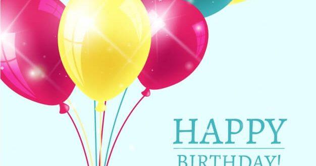 Free Birthday Vectors